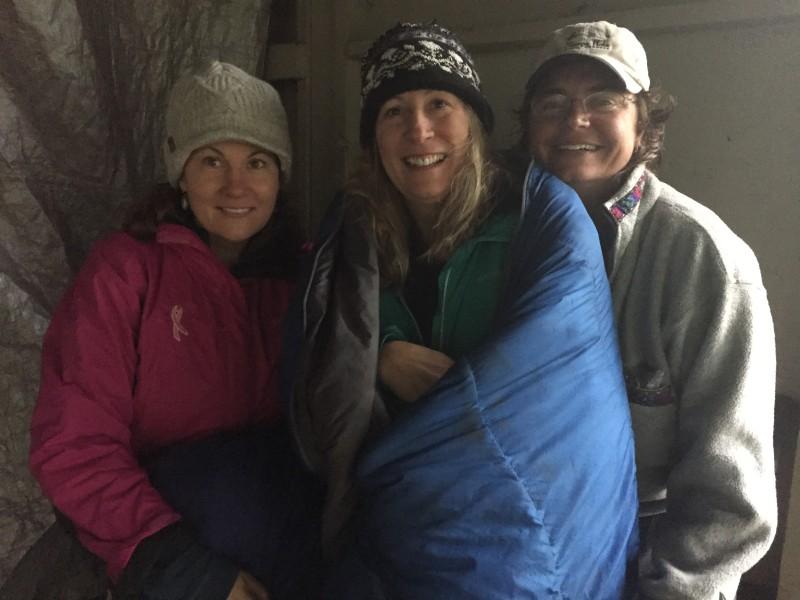 Our new women friends, Ann, Lynn and Annette