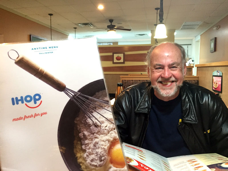 Bob at iHop in Tallahassee