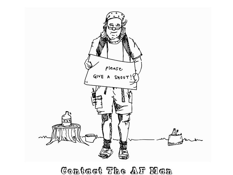 Contact The AF Man