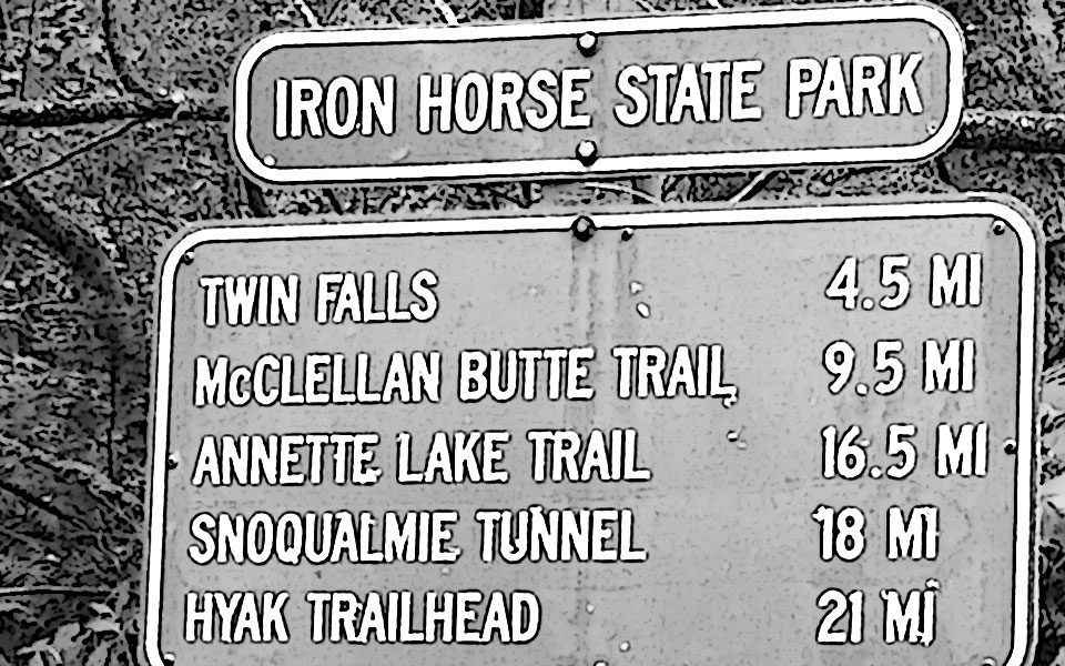 The Angel of the Iron Horse Trail